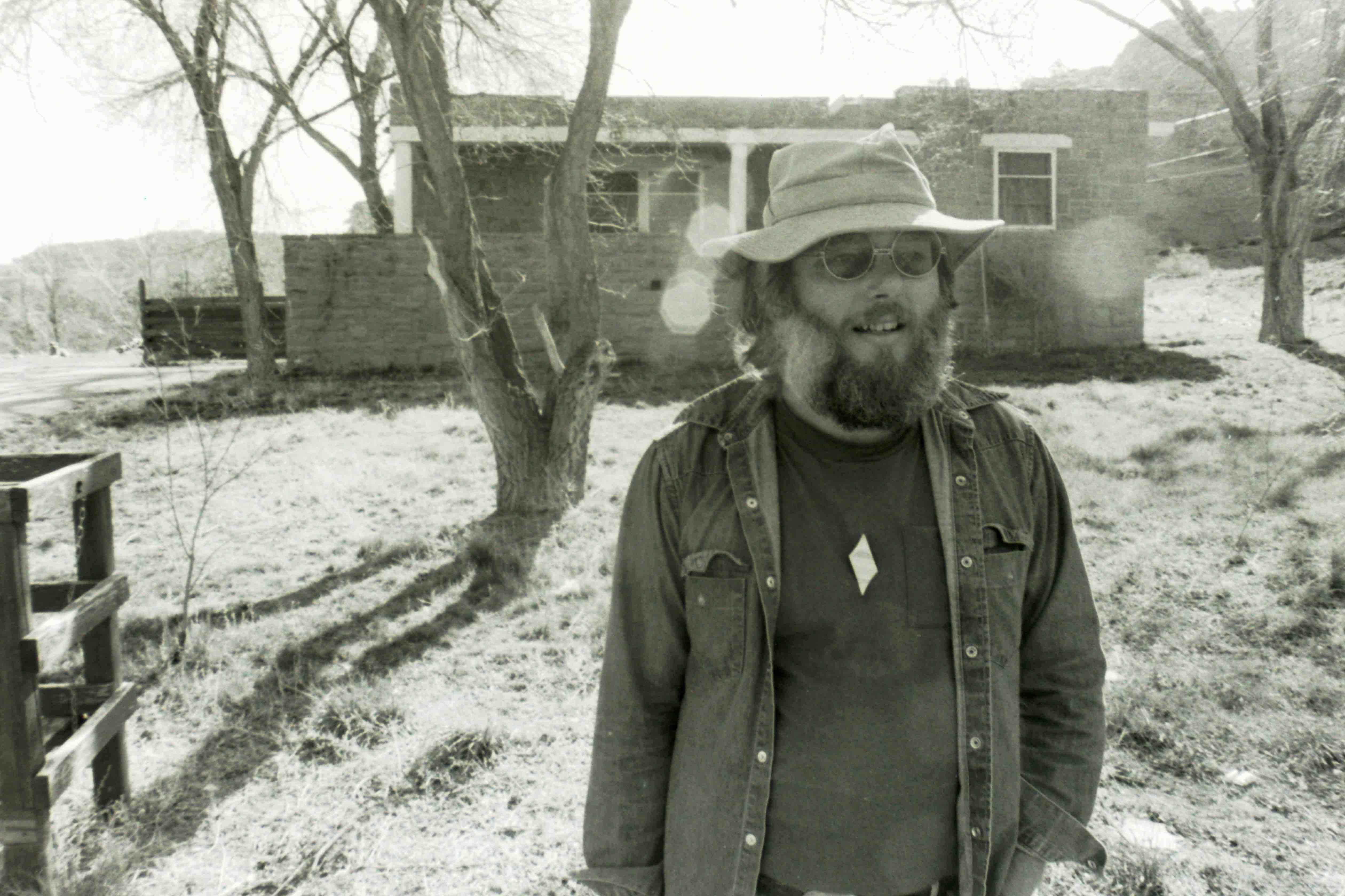 Dan Young in Window Rock, Arizona 1984.  Photo: Jørn Bordewich